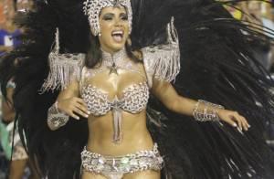 Anitta dispara ao saber que foi elogiada por desfile na Mocidade: 'Milagre'