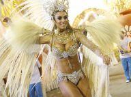 Nicole Bahls usa fantasia de R$ 100 mil para desfilar como musa da Vila Isabel