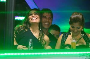 Juliana Paes deixa Antônio em casa pela 1ª vez e curte Rock in Rio com marido