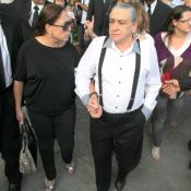Vicente Sesso, pai de Marcos Paulo, vai a cartório beneficiar Antonia Fontenelle