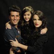 Mel Maia diz que recebe mimos de Bruno Gagliasso e Bianca Bin: 'São fofos'