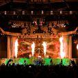 Os fãs da banda podem esperar muitos efeitos de iluminação e som no palco do show