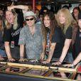 Em 2005, o Iron Maiden foi eternizado na calçada da fama de Hollywood