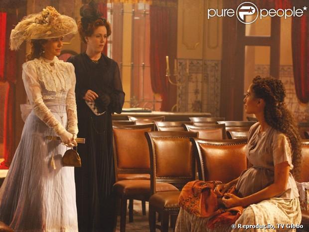 Isabel (Camila Pitanga) vai dar uma surra em Constância (Patricia Pillar) quando descobrir que seu filho está vivo, em informação dada na quarta-feira, 19 de dezembro de 2012
