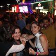 Rock in Rio: Maria Casadevall curtiu o festival no meio do público