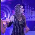 Ana Paula e Renan discutem durante a festa Trem Expresso