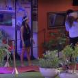 Ronan leva Ana Paula para o quarto nas costas depois da confusão