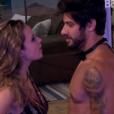 Ana Paula discutiu com Renan na festa Trem Expresso e deu dois tapas no modelo