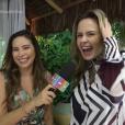 Ana Paula do 'BBB16' participou do 'Vídeo Show' e mais uma vez ficou nos Trending Topics do Twitter, nesta segunda-feira, 7 de março de 2016