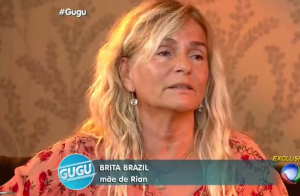 Mãe de Rian Brito explica confusão com Leona Cavalli: 'Representa o chá pra mim'