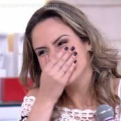 Ana Paula, do 'BBB16', leva chamada de Fátima Bernardes: 'Bota o microfone!'