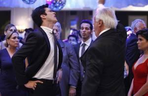 'Amor à Vida': veja fotos de César esbofeteando Félix no casamento de Paloma
