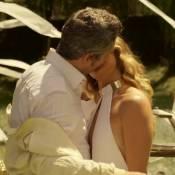 Novela 'A Regra do Jogo': casamento de Atena e Romero bomba web. 'Chorando'