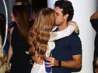 Marina Ruy Barbosa e namorado, Xandinho Negrão, trocam beijos em festa. Fotos!