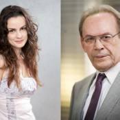 'Amor à Vida': Gina e Herbert flertam sem saber que podem ser pai e filha