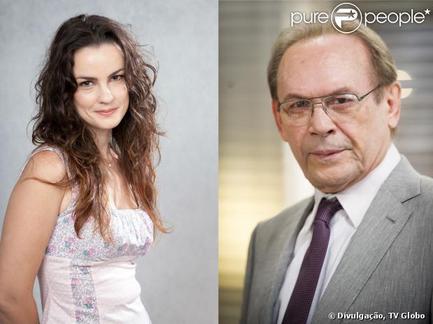 Gina (Karolina Casting) e Herbert (José Wilker) se conhecem por acaso e flertam, sem saber que podem ser pai e filha, em 'Amor à Vida', em 27 de setembro de 2013