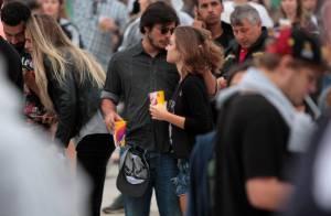 Loira flagrada beijando Bruno Gissoni é Marcela Fetter, atriz de 'Malhação'