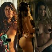 Famosos ganham destaque com cenas de nudez em novelas e séries da TV. Relembre!