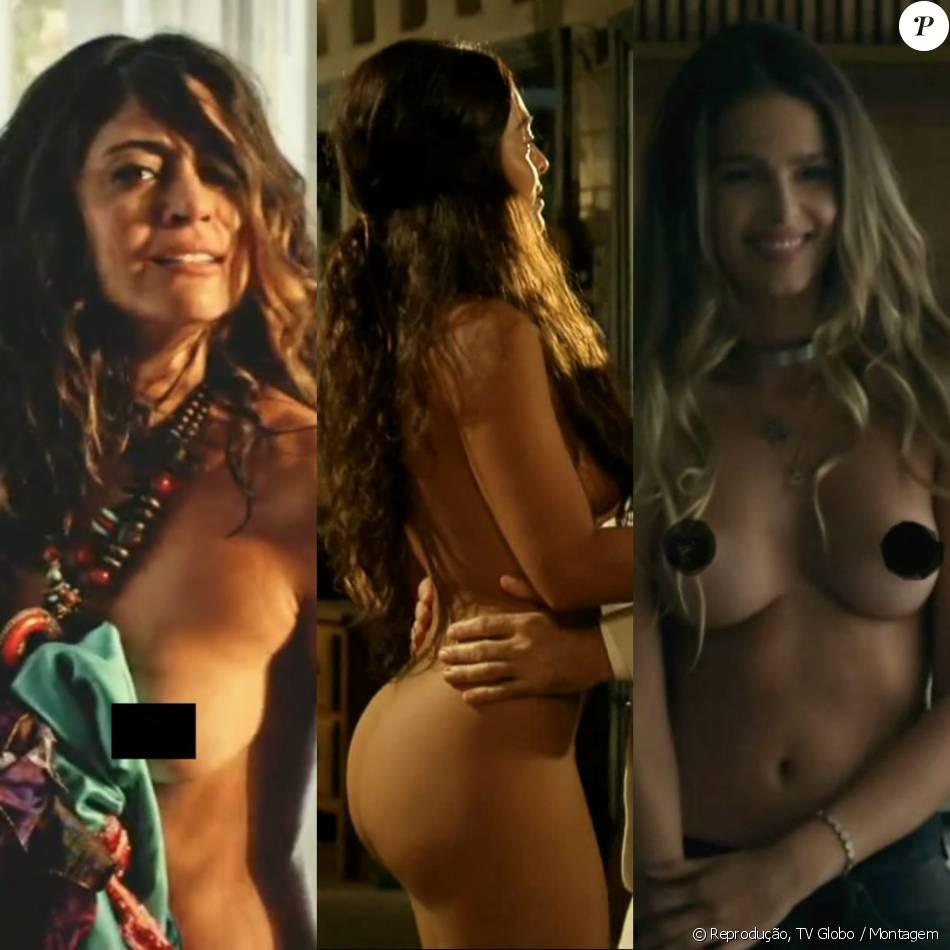 Andréa Horta Nua famosos ganham destaque com cenas de nudez em novelas e