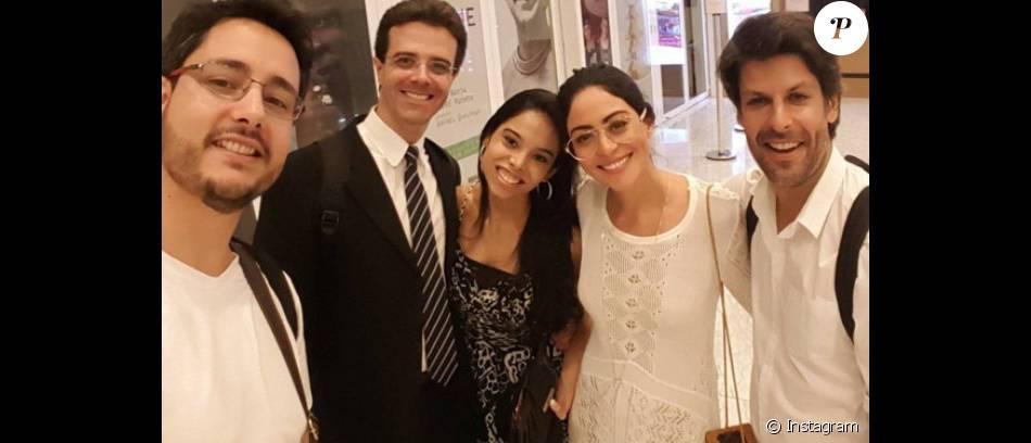 Carol Castro comemora relacionamento com violinista Felipe Prazeres, que tocou em seu primeiro casamento: 'A vida dá voltas'