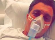 Angélica mostra Luciano Huck fazendo nebulização e de cama: 'Gripe'. Vídeo!