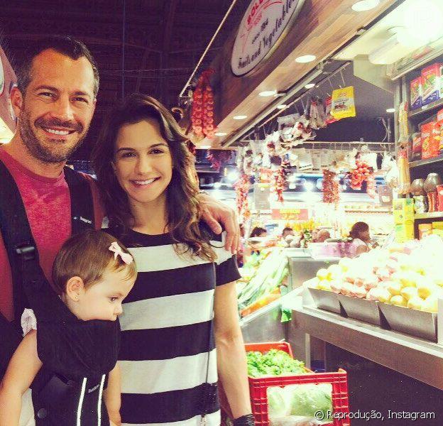 Kyra Gracie, grávida de dez semanas de Malvino Salvador, conta que não faz dieta durante a gestação, em 20 de março de 2016