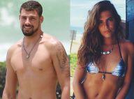 Cauã Reymond e a namorada, Mariana Goldfarb, jantam com irmã da modelo no Rio