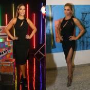 Ivete Sangalo repete vestido Versace usado por Grazi Massafera de R$ 6 mil
