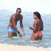 Aline Riscado já conheceu a mãe do namorado, o ator Felipe Roque