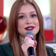 Marina Ruy Barbosa participou do 'Encontro com Fátima' na manhã desta terça-feira, 22 de março de 2016