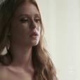 Marina Ruy Barbosa recebeu elogios pelas cenas do ensaio nu de Eliza na novela 'Totalmente Demais', exibida no dia 11 de março de 2016