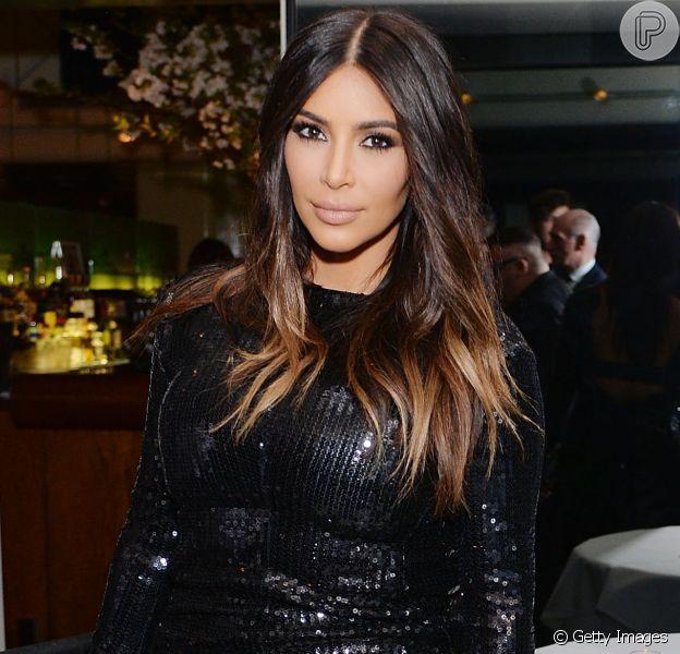 Kim Kardashian perde 19 Kg menos de quatro meses após dar à luz o segundo filho, Saint West