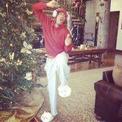 Mariah Carey posta foto do marido, Nick Cannon, dançando com pantufas