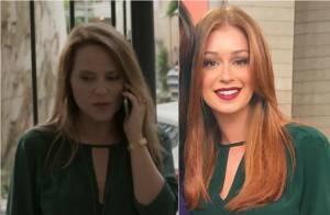 Viviane Pasmanter, em 'Totalmente Demais', repete look de Marina Ruy Barbosa