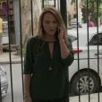 Lili (Viviane Pasmanter) apareceu com a blusa verde já usada por Marina Ruy Barbosa