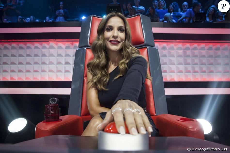 Ivete Sangalo quer participar da segunda temporada do 'The Voice Kids'. 'Nunca vivi algo assim', contou em entrevista ao jornal 'Extra'