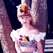 Marina Ruy Barbosa refaz foto de infância vestida como Carmen Miranda: 'Saudade'