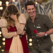 Mariana Santos chora com homenagem do noivo no 'Amor & Sexo': 'Penso em casar'