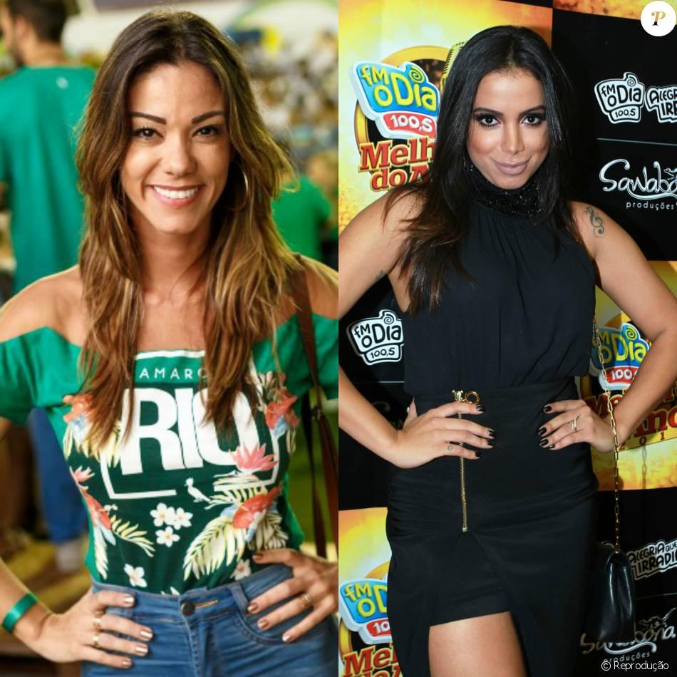 Anitta e Kamilla Fialho se enfrentaram nos tribunais: a cantora faltou a audiência e a empresária recusou acordo nesta segunda-feira, dia 28 de março de 2016