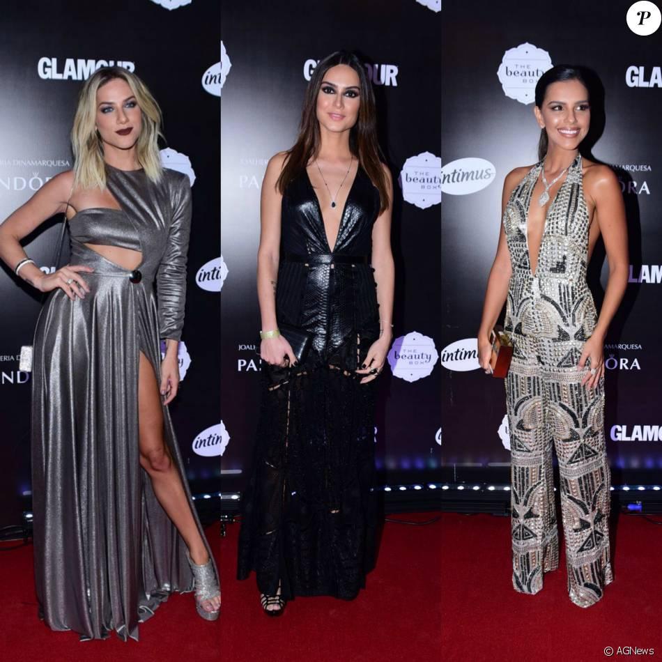 Giovanna Ewbank, Thaila Ayala e Mariana Rios apostaram em looks refinados para o prêmio Geração Glamour, realizado nesta quarta-feira, dia 31 de março de 2016