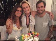 Ana Maria Braga completa 67 anos com bolo de aniversário personalizado: 'Rainha'