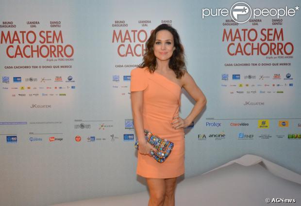 A atriz Gabriela Duarte falou sobre como concilia o trabalho com a maternidade em entrevista a colunista Patricia Kogut
