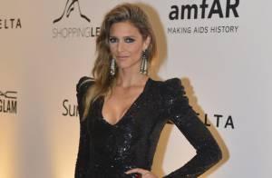 Fernanda Lima vai a baile da amfAR com look de R$ 100 mil: 'É tudo emprestado'