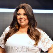 Fabiana Karla faz sucesso em desfile de moda plus size no Paraná