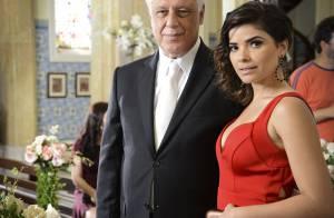 Aline e César ficam noivos em 'Amor à Vida'; união será o 7º casamento da trama