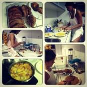Bruna Marquezine vira cozinheira e faz rabanadas para o Natal