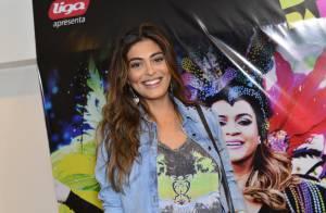 Juliana Paes se diverte em show de Preta Gil: 'Ganhei um vale-night do maridão'