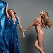 Gisele Bündchen posa nua e exibe o corpo esbelto em revista; veja fotos