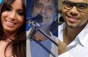 Anitta e Naldo vão cantar no 40º especial de fim de ano de Roberto Carlos
