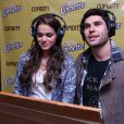 Dudu Azevedo e Bruna Marquezine participaram da dublagem de personagens para um dos quatro filmes digitais da marca Cornetto, da Kibon, em setembro deste ano